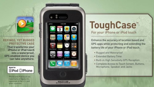 Magellan ToughCase turns the fragile iPhone into a toughie while improving GPS accuracy
