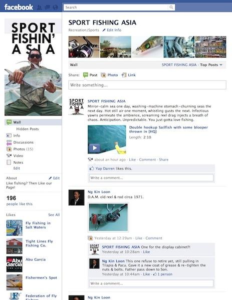 Fishing on Facebook!
