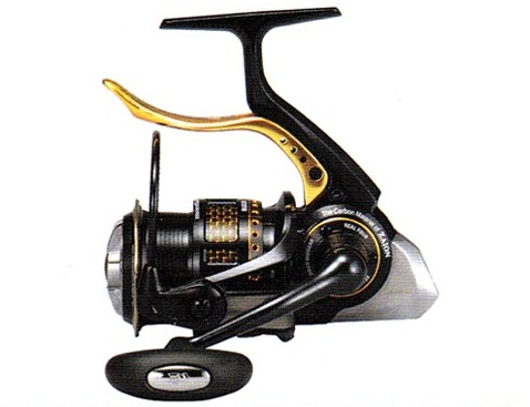 2011 Daiwa Morethan Branzino New Concept Lever Brake Reel. More than what?