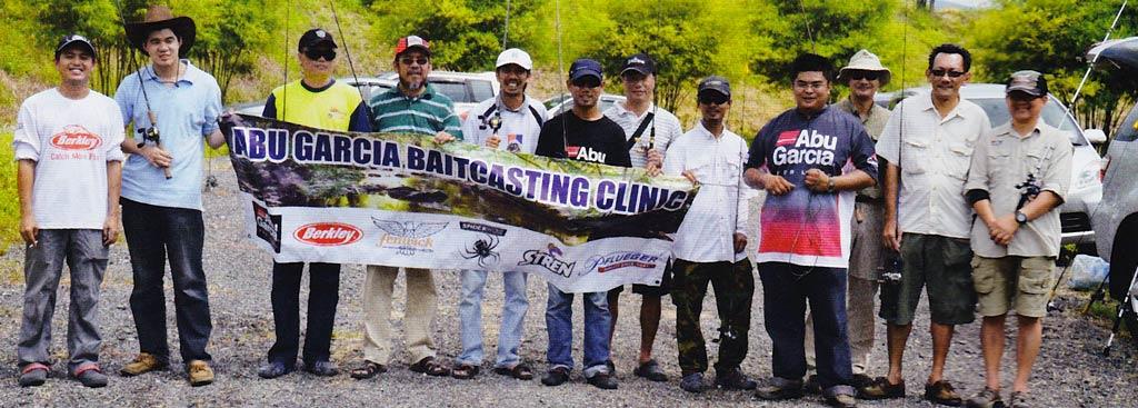 Rod & Line Magazine Abu Garcia Baitcasting Clinic
