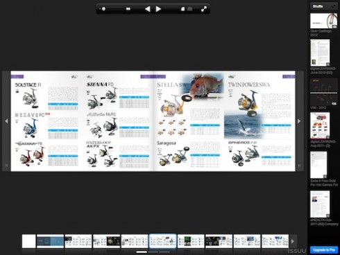 shimano south east asia 2012/13 catalog, Fishing Reels