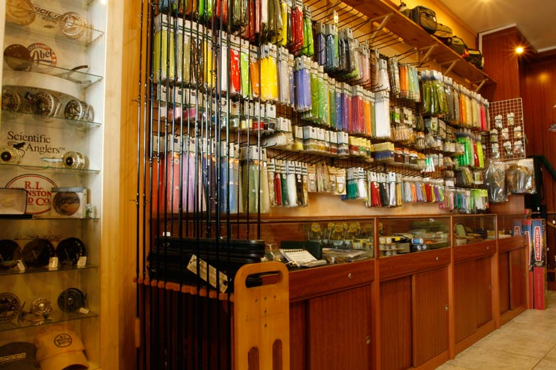 Fishing tackle store listing for Fishing equipment stores