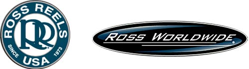 Ross Reels Ross Worldwide old logos