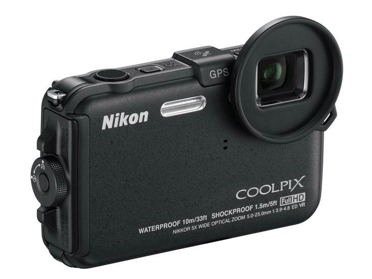 Nikon Coolpix AW100 waterproof shockproof camera