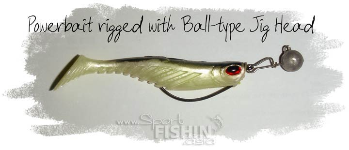How To: Rigging and Using Berkley PowerBait Swimbait Soft Plastic to Catch Haruan (Striped Snakehead)