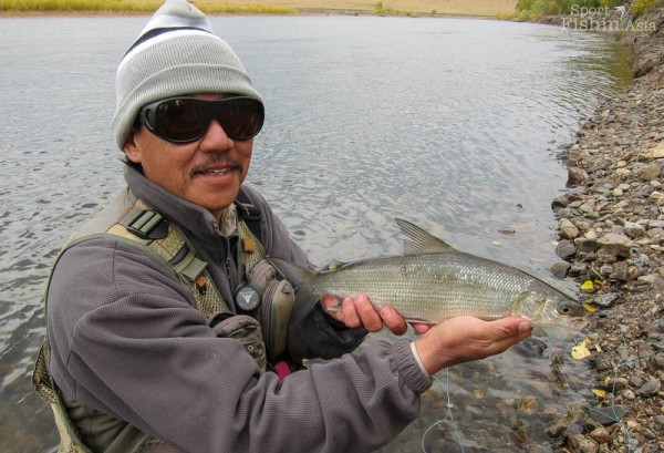 Fly-fishing-Mongolia-