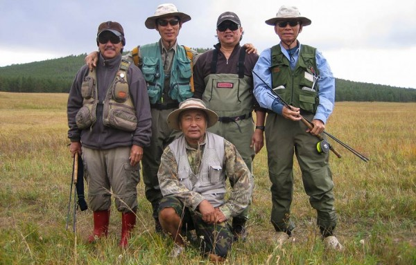 Fly fishing motley crew