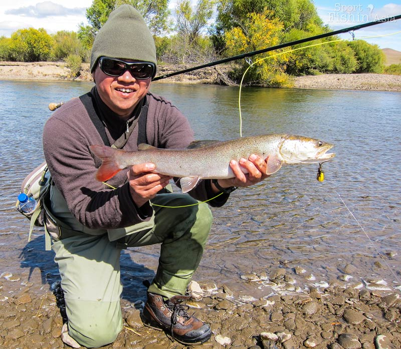 Is mongolia the trout and fly fishing capital of asia for Taimen fishing mongolia