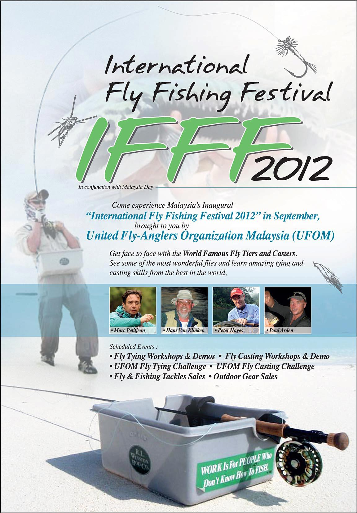 The International Fly Fishing Festival: Sep 16-17, 2012
