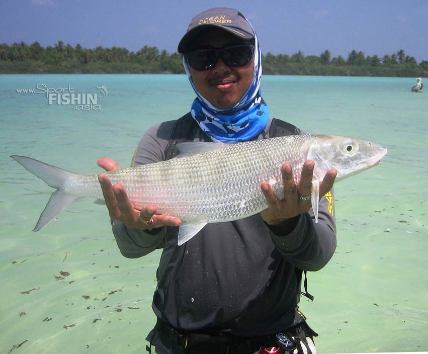 That is a bonefish!