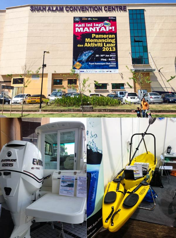 Walkabout – Angling & Outdoor Fair, Shah Alam Convention Centre. Day 1.