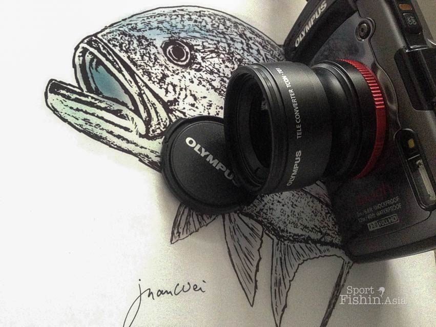 giant-trevally-drawing-olympus-tough-tg-1-teleconverter-zoom-tcon-t01