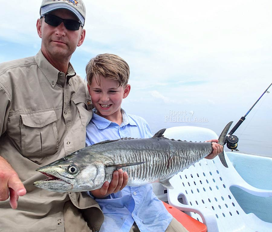 Rompin sailfish and when every fish species is a first