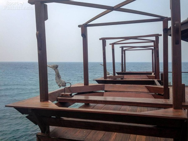 A section of Japamala Resort's jetty
