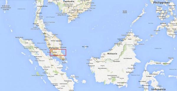 malaysia-south-east-asia-Kuala-Rompin-Kuala-Lumpur-tioman-map