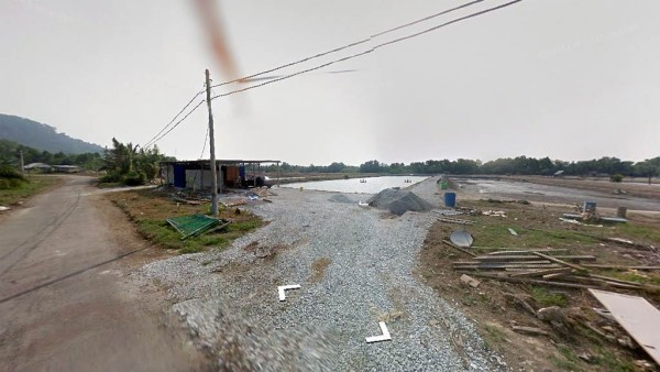 Screen shot from Google street view
