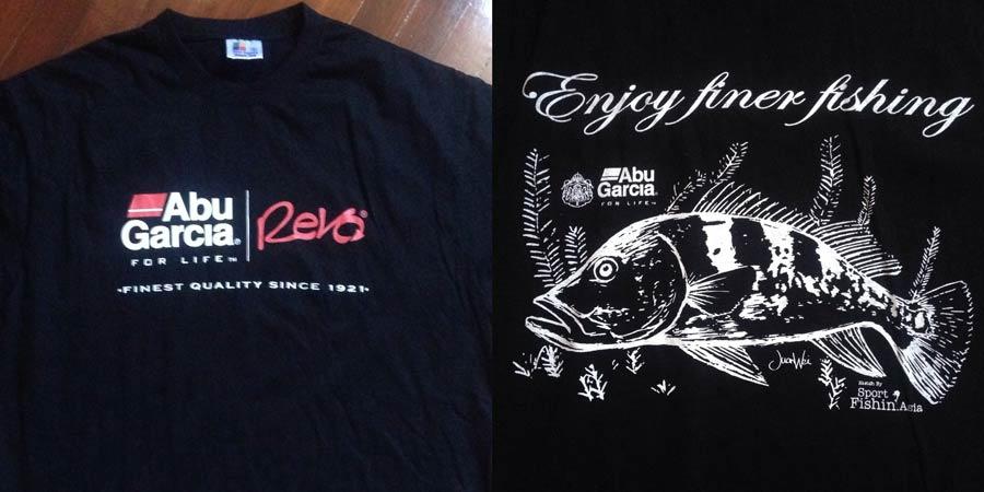 f0b5eca15f My peacock bass and sailfish art printed on Abu Garcia and PENN t-shirts
