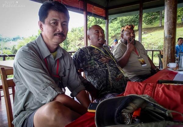Malaysian CCIs, Eddie, Shahrul and Ian.