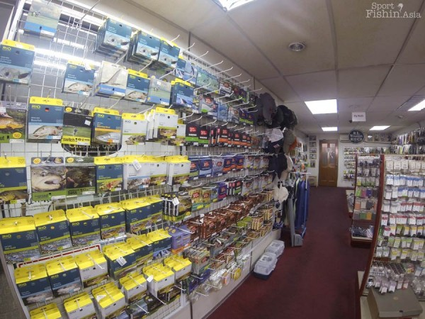 Huge selection of fly lines for all applications