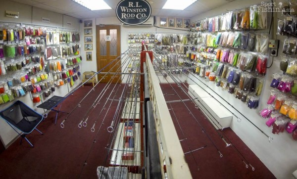 Lots of fly rods from combo sets to the high-end rods and new models are brought in as soon as they are launched
