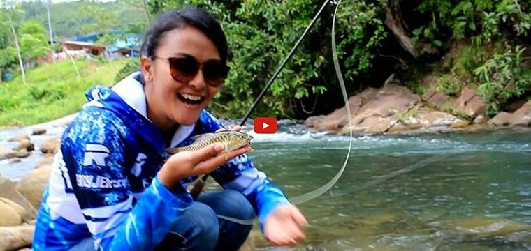 Sabah Mini International Fly Fishing Fair on Mata Pancing