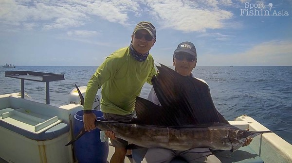 Jamie and Peter Ling - fishing is a fantastic way to bond friendships
