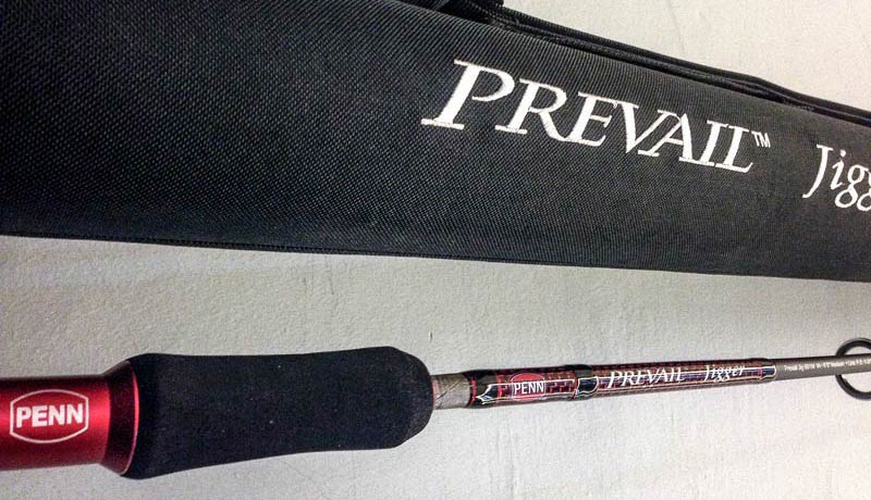 New Penn Prevail Jigger Rod