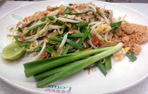 Ever popular pad thai