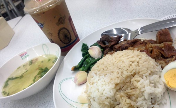 I love thai food. And a good cup of ice coffee.