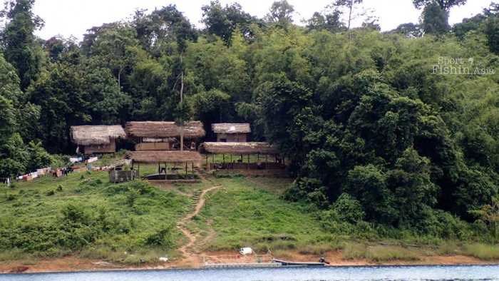 An indigenous tribe village