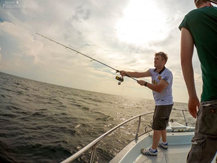Casting lures for sailfish is a very exciting way to catch sailfish