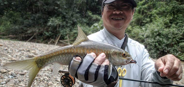 A Day on The River Fishing for Thai Mahseer – preview video