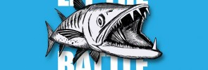 """Let The """"Toothy"""" Battle Begin: New PENN T-shirt with Barracuda"""