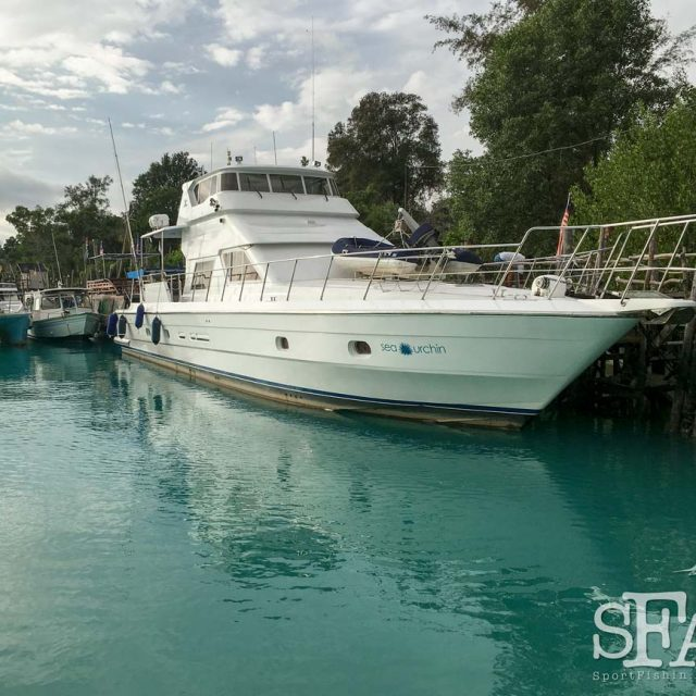 About Sea Urchin Charters – the Only Live Aboard Luxury Sport Fishing Yacht Charter in Kuala Rompin and Malaysia