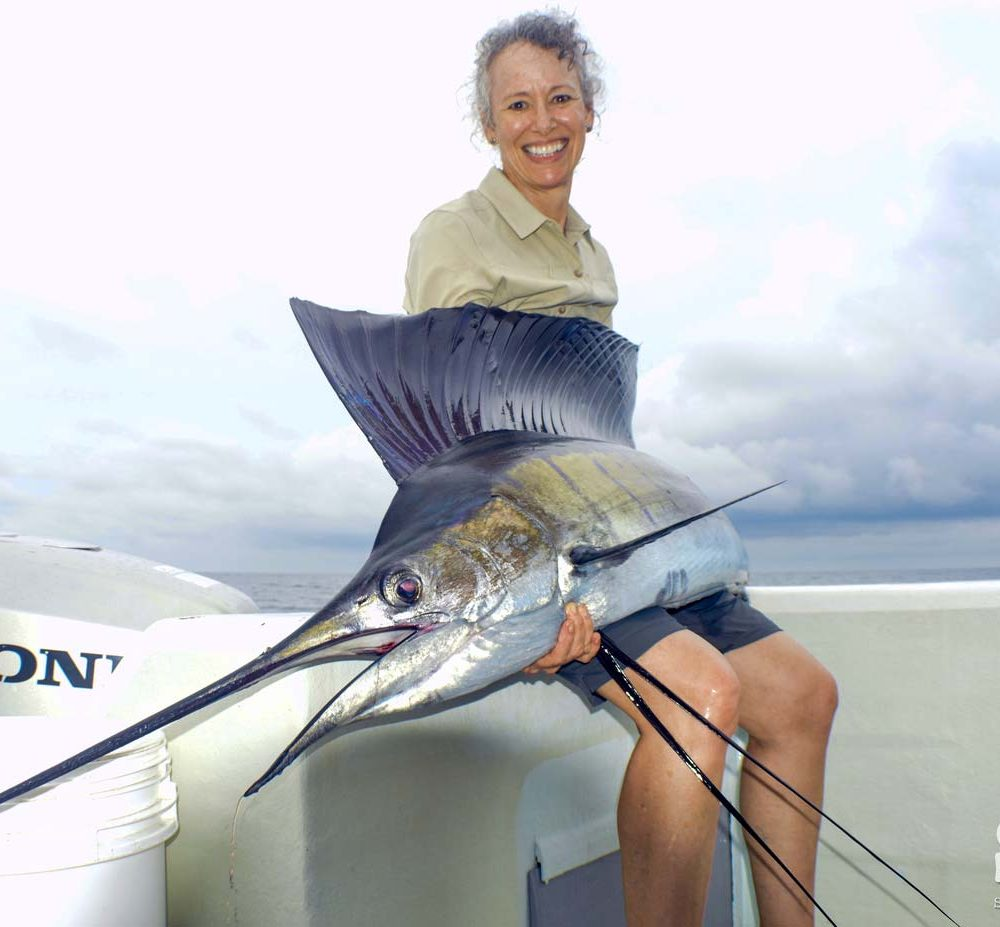 A Couple of Sailfish for This Couple