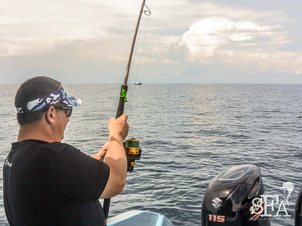 Trip Report: Day 1 – Gary of Auckland Marine Centre and Friends Sailfish Fishing in Rompin