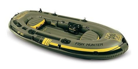 Sevylor Fish Hunter Inflatable Fishing Boat