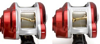 Super Casting Innovative Baitcaster Reel from U.S. Reel