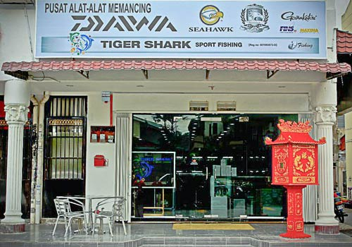 Asian retail fishing tackle sellers