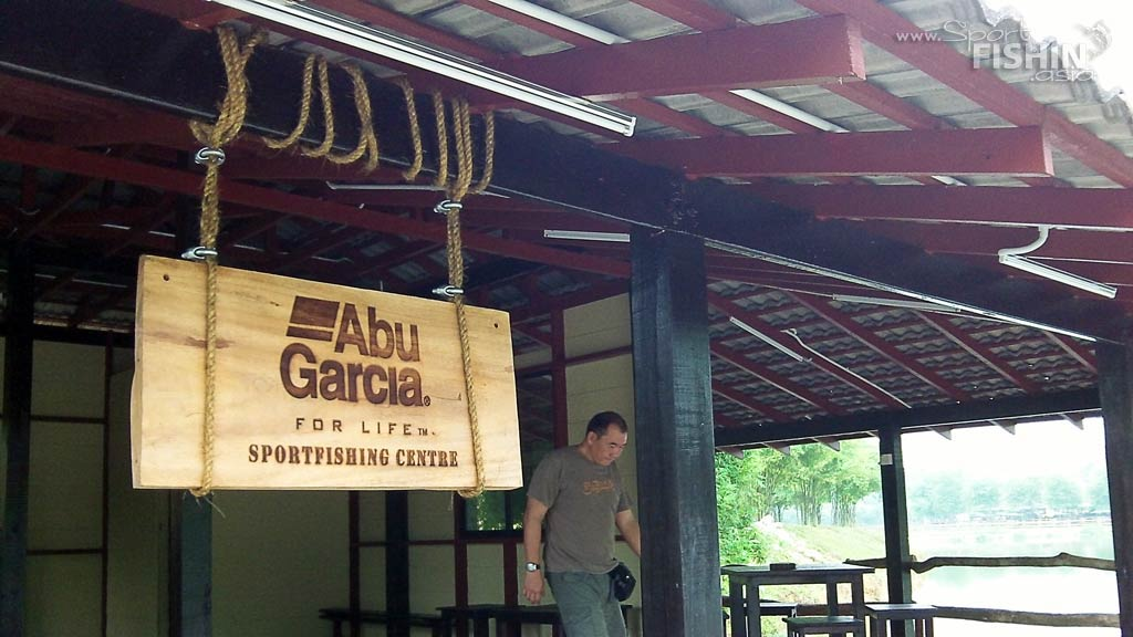 Abu Garcia Sportfishing Centre at Fish Valley and Bait Casting Clinic Goings-on
