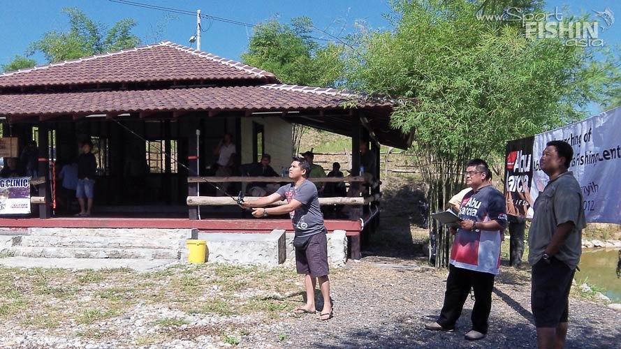 Abu Garcia's basics of baitcasting clinic – July 14, 2012