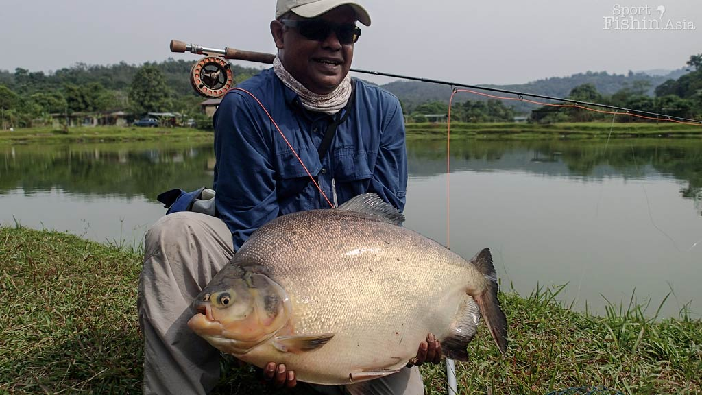 What is Better Than Catching One Giant Pacu?