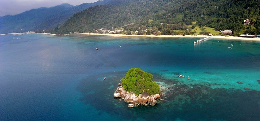 Tioman Island Resorts and Sailfish Fishing
