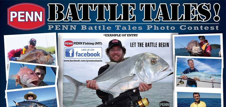 Win a PENN rod, reel and goodies.