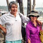 Barry and Irene at the Kuala Rompin jetty