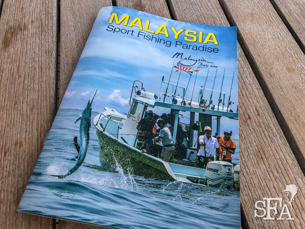 15 Photos Gets Tourism Malaysia Sport Fishing Brochure Feature!