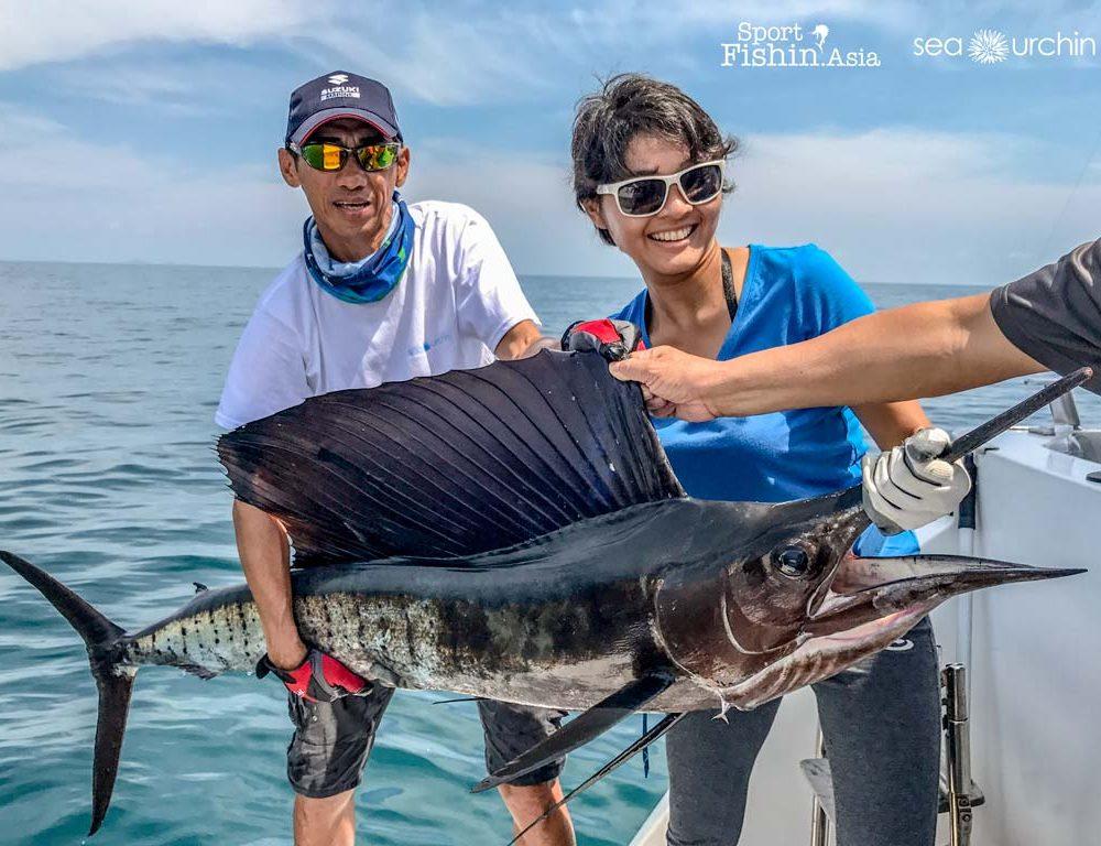 Video: 6 Days Live Aboard Charter Trip in Kuala Rompin Sailfishing with Zach