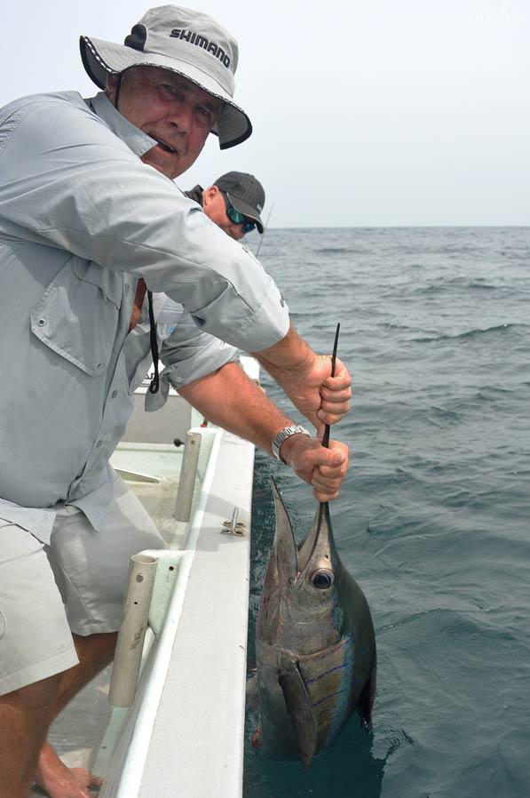 Stuart and his sailfish
