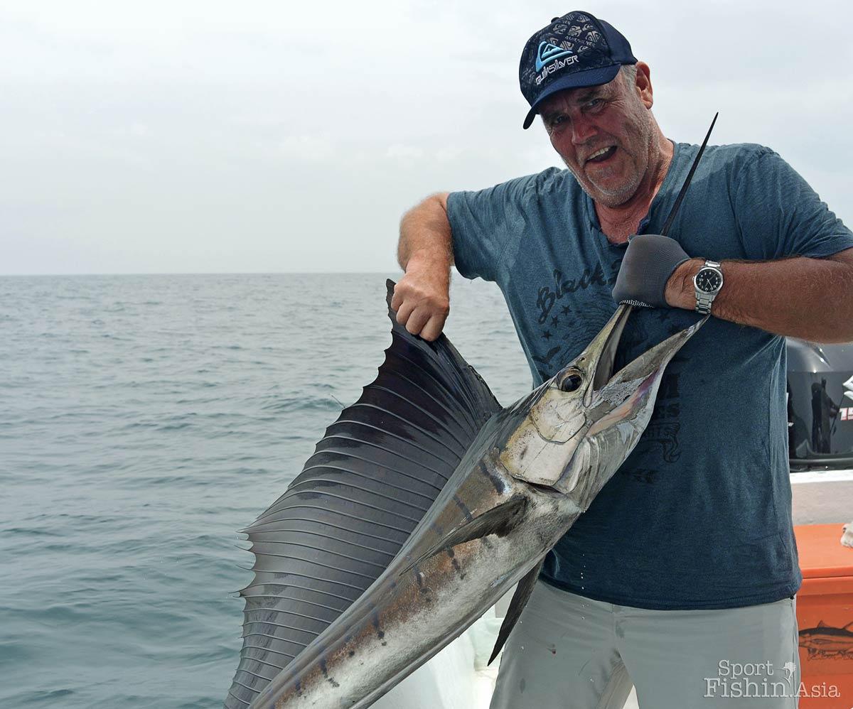 Beautiful sailfish by Stuart