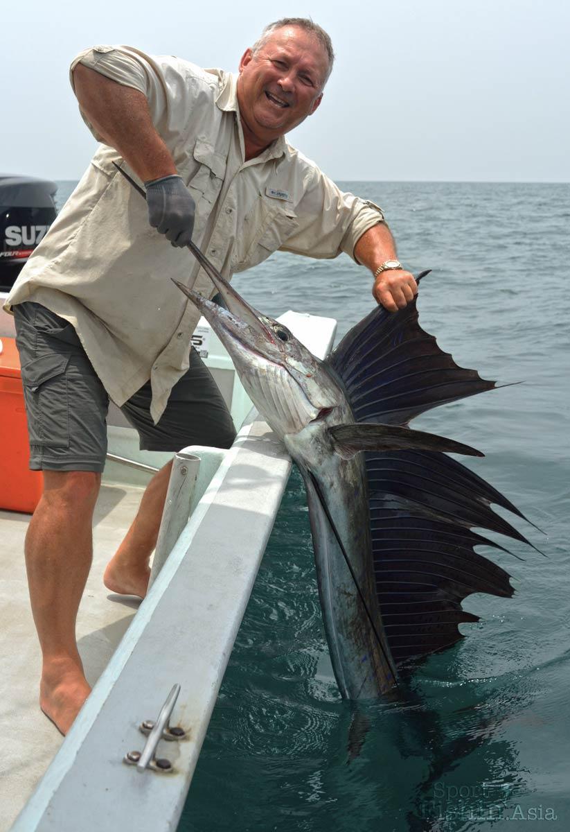 David with a nice sailfish